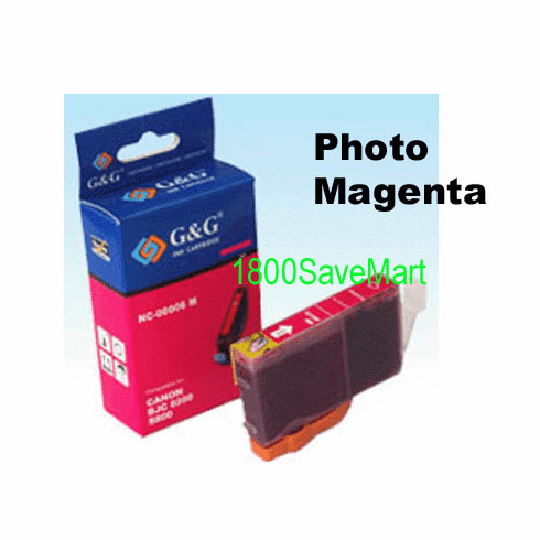 Canon BCI-8PM Compatible Cartridge - PHOTO MAGENTA, Buy 3 Get 1 Free, Buy 5 Get 2 Free