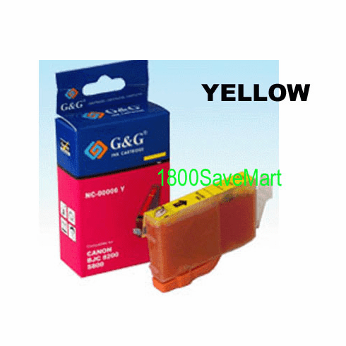 Canon BCI-8Y Compatible Cartridge - YELLOW, Buy 3 Get 1 Free, Buy 5 Get 2 Free
