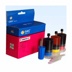 Canon InkJet Refill Kit for Canon BC-06 Color InkJet Cartridges --- Photo CMY, Buy 3 Get 1 Free, Buy 5 Get 2 Free