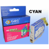 Epson T059220 Compatible Cartridge For R2400 - CYAN