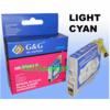Epson T059520 Compatible Cartridge For R2400 - Light Cyan