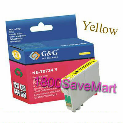 Epson T073420 Compatible Cartridge - Yellow, Buy 3 Get 1 Free, Buy 5 Get 2 Free