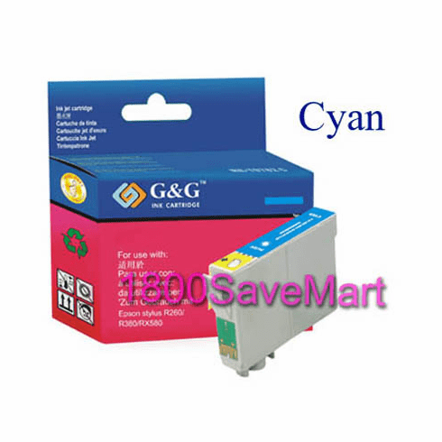 Epson T077220 Compatible Cartridge - Cyan, Buy 3 Get 1 Free, Buy 5 Get 2 Free