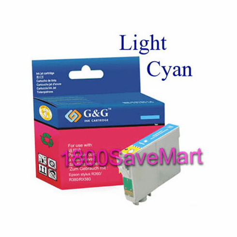 Epson T077520 Compatible Cartridge - Light Cyan, Buy 3 Get 1 Free, Buy 5 Get 2 Free