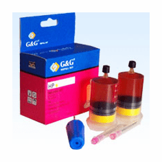 HP InkJet Refill Kit for HP 51640Y --- YELLOW, Buy 3 Get 1 Free, Buy 5 Get 2 Free
