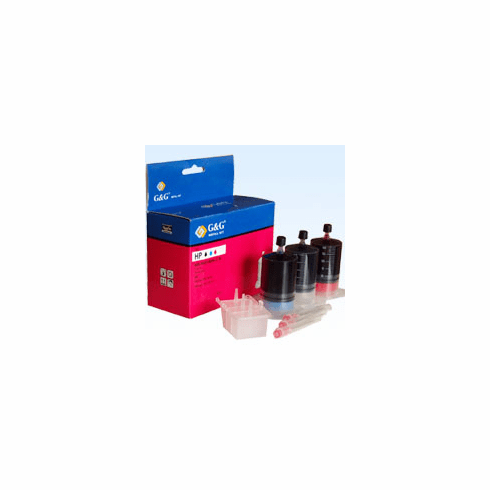 HP InkJet Refill Kit for HP C1816A  --- BK, C, M, Buy 3 Get 1 Free, Buy 5 Get 2 Free