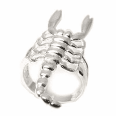 Large Scorpian Style Sterling Silver Ring