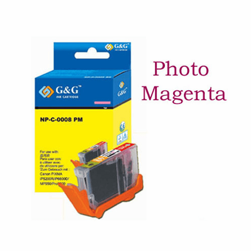 Premium Canon CLI-8PM Compatible Cartridge - photo Magenta, No CHIP