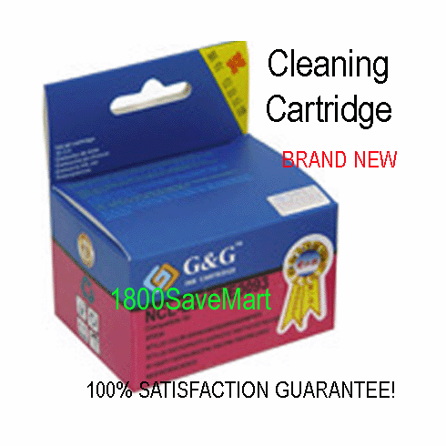 Premium Cleaning Cartridge For Canon BCI-3eC, BCI-5C, BCI-6C --- CYAN