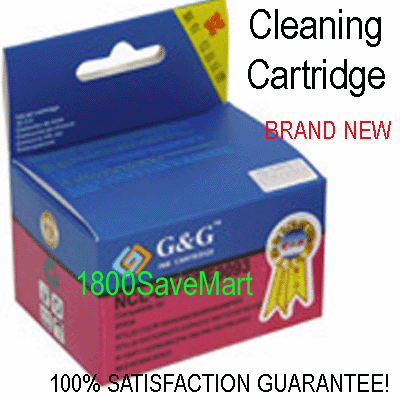 Premium Cleaning Cartridge For Canon BCI-6BK BCI-3ePBK --- BLACK