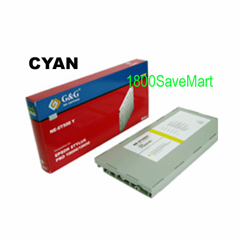 Premium Compatible Cartridge For Epson T545200 --- Dye-based Ink, Cyan