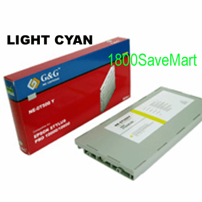 Premium Compatible Cartridge For Epson T545500 --- Dye-based Ink, Light Cyan