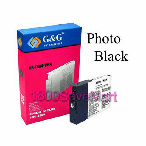 Premium Compatible Cartridge For Epson T564100 --- Pigment Ink, Photo Black