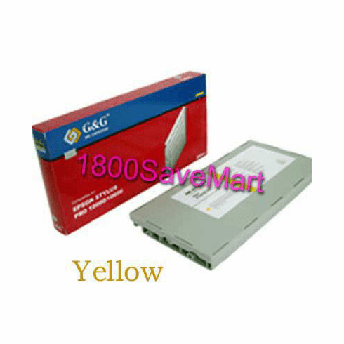 Premium Compatible Cartridge For Epson T565400 --- Pigment Ink, Yellow