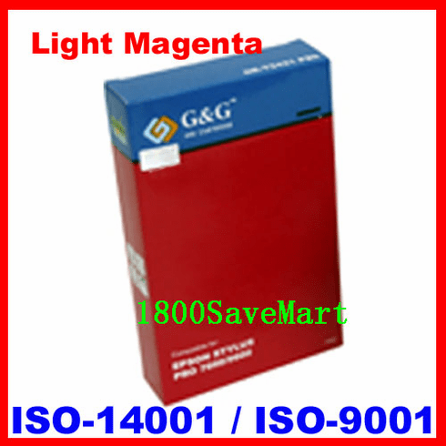 Premium Compatible Cartridge For Epson T580600 --- Pigment Ink, Light Magenta