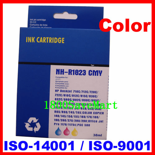 Premium Compatible Cartridge For HP C1823D C1823A C1823 HP #23 HP23