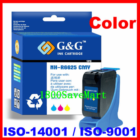 Premium Compatible Cartridge For HP C6625AN C6625A C6625 HP #17 HP17