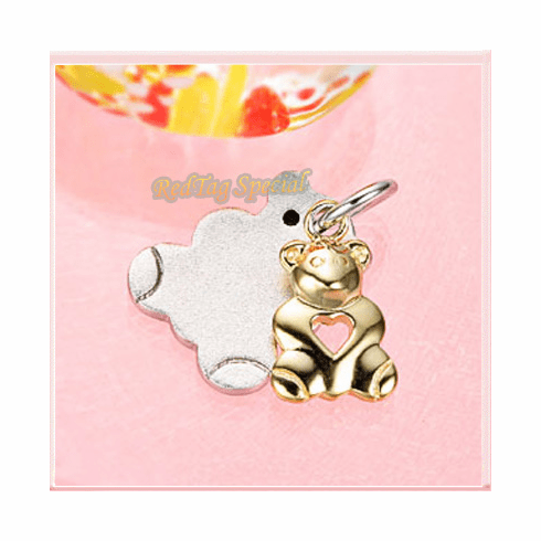 Pretty Baby and MoM Sterling Silver Pendant PYAD