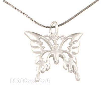 Pretty Beautuful Sterling Silver 24mm Pendant PJAH