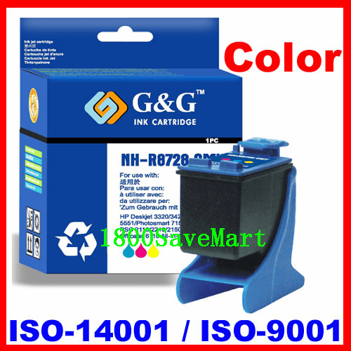 Remanufactured Compatible Ink Cartridge For HP C8728A C8728 HP #28 HP 28-Cyan, Magenta, Yellow