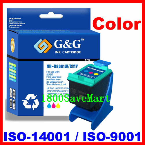 Remanufactured Ink Cartridge For HP C9361WN (No. 93) HP #93-Color