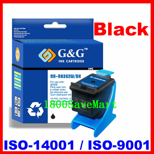 Remanufactured Ink Cartridge For HP C9362WN (No. 92) HP #92-Black