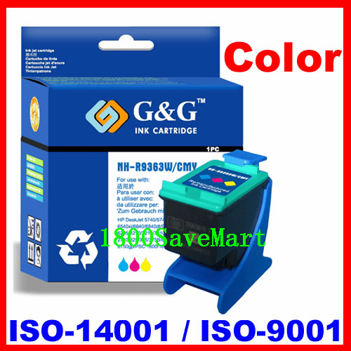 Remanufactured Ink Cartridge For HP C9363WN (No. 97) HP #97-Color