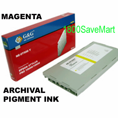 T513201 Ink Cartridge For Epson Pro 10000 10600 -  Pigment Ink, MAGENTA