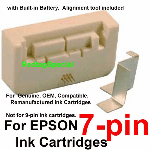 Universal Smart Chip Resetter Tool For ALL Epson 7-pin Desktop Ink Cartridges