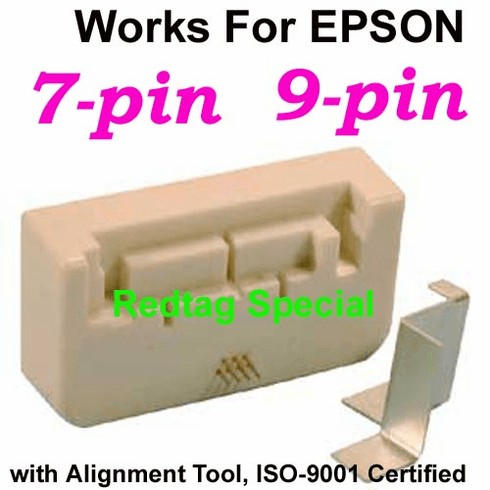Universal Smart Chip Resetter Tool For Epson 9-pin & 7-pin Ink Cartridges