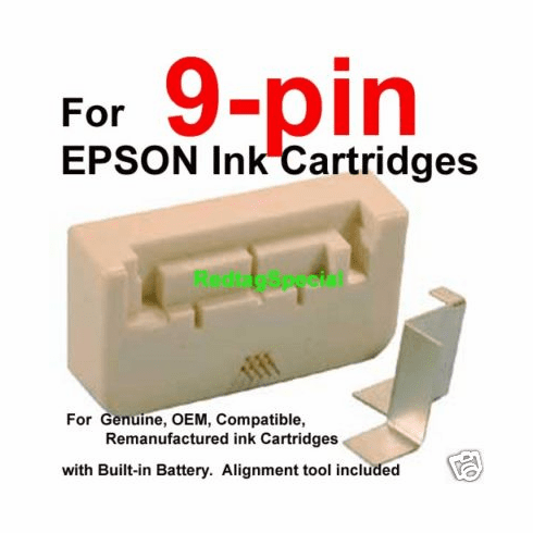 Universal Smart Chip Resetter Tool For Epson 9-pin Ink Cartridges