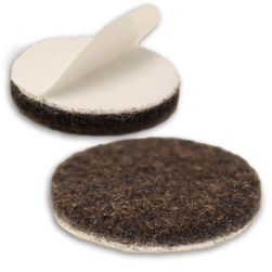1-1/4 inch, 100/pkg, Heavy Duty Felt Furniture Pads