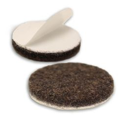 1-inch, qty 100, Heavy Duty Felt Furniture Pads