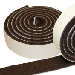 Heavy Duty Felt Pad Roll, 1-inch wide x 60-inches long