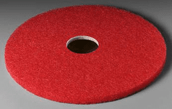 3M Red Buffer Pad 5100, 17-inch