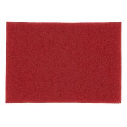 3M Red Buffer Pad 5100, 20x14 inch