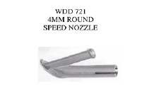 4MM Round Speed Nozzle with curved tip for Coving