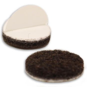 7/8-inch, 1000-pack, Heavy Duty Felt Furniture Pads