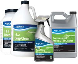 AQUA MIX Routine & Heavy-Duty Stone, Tile & Grout Cleaners