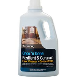 Armstrong Once 'n Done No-Rinse Floor CLEANER CONCENTRATE, 1-Gal (128oz)