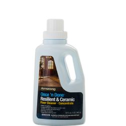 Armstrong Once 'n Done No-Rinse Floor CLEANER CONCENTRATE, 32-oz