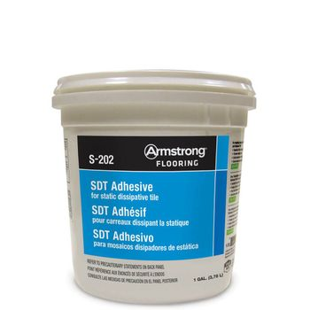 Armstrong S-202 Static Dissipative Tile Adhesive - 4 Gallon Pail