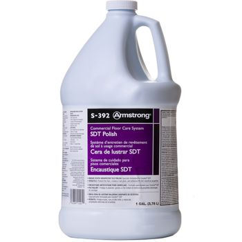 Armstrong SDT Static Dissipative Tile Polish S-392, 1-Gallon