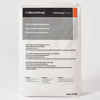 Armstrong S-463 Level Strong, 50lb bag