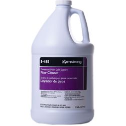 Armstrong S-485 Commercial Neutral No-Rinse Floor Cleaner - 1 Gallon