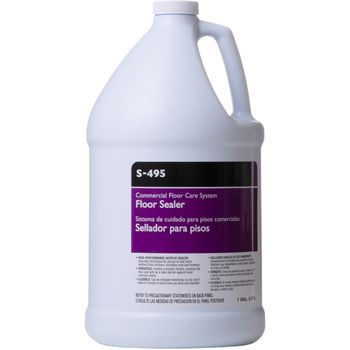 Armstrong S-495 Commercial Floor Sealer, 1-Gallon