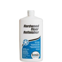 Basic Coatings Hardwood Floor Refinisher, 1-Quart