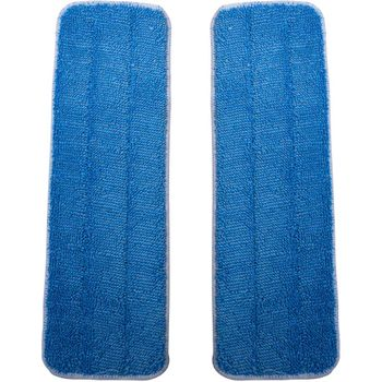 Basic Squeaky Replacement Microfiber Mop Pads, 2-pack