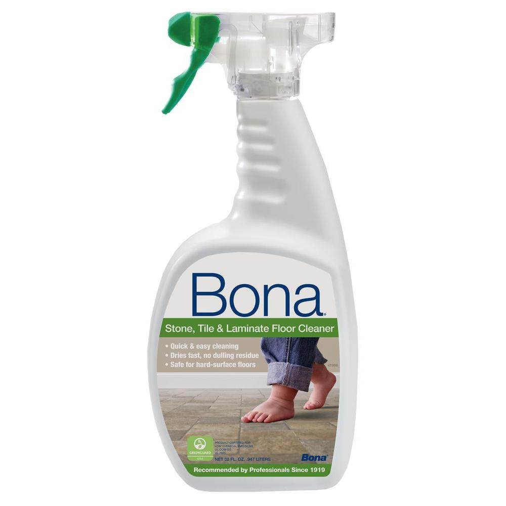 Bona Stone Tile Laminate Floor Cleaner 32 Oz Spray Bottle
