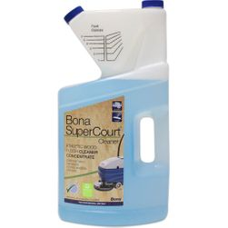 Bona SuperCourt Floor Cleaner Concentrate, 1-Gallon